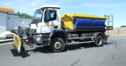 MERCEDES-BENZ 1824 GRITTER WITH PLOUGH