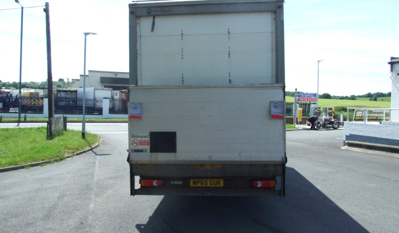 IVECO 75E16 2015 EURO 6 20′ BOX WITH TAIL LIFT full