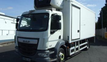 DAF LF 210 2015 EURO 6 FRIDGE VAN WITH TAIL LIFT full