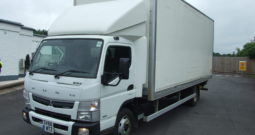 MITSUBISHI CANTER FUSE 7C18 BOX VAN WITH UNDER FLOOR TAIL LIFT