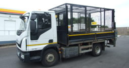 IVECO 75E16 TIPPER WITH HIGH MESH SIDES AND TAIL LIFT