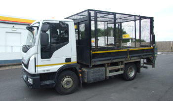IVECO 75E16 TIPPER WITH HIGH MESH SIDES AND TAIL LIFT full