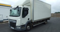 DAF LF 150 20FT BOX VAN WITH TAIL LIFT AND BARN DOORS