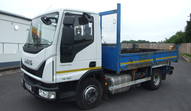 2016 IVECO 75.160 WITH TIPPING BODY full